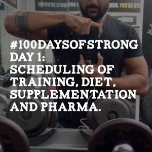 #100daysofstrong day 1