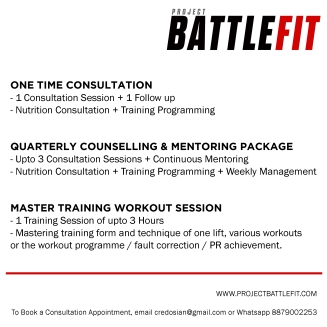 fitness consultation programmes